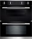 RANGEMASTER RMB7248BL/SS Electric Built-under Double Oven - Black, Black