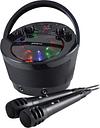 GROOV-E GV-PS923-BK Portable Bluetooth Karaoke Boombox - Black, Black