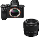 SONY a7 II Mirrorless Camera & FE 50 mm f/1.8 Standard Prime Lens Bundle