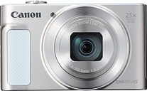 Canon PowerShot SX620 HS Superzoom Compact Camera - White, White