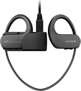 SONY NW-WS413B 4 GB Waterproof All in One MP3 Player - Black, Black