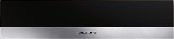 RANGEMASTER RMB45WDBL/SS Warming Drawer - Black, Black