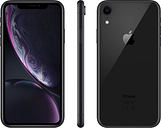 Apple iPhone XR - 64 GB, Black, Black