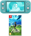Nintendo Switch Lite & The Legend of Zelda Breath of the Wild Bundle - Turquoise, Turquoise