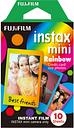 FUJIFILM instax mini Film - 10 Shots, Rainbow