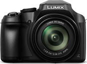PANASONIC Lumix DC-FZ82EB-K Bridge Camera - Black, Black