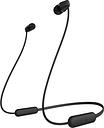 SONY WI-C200 Wireless Bluetooth Earphones - Black, Black