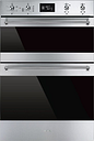 SMEG DOSF6390X Electric Double Oven - Stainless Steel, Stainless Steel