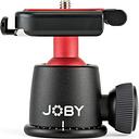 JOBY BallHead 3K Mount - Black & Red, Black