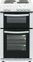 ESSENTIALS CFTE50W17 50 cm Electric Solid Plate Cooker - White, White