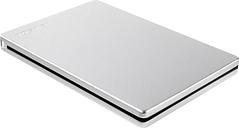 TOSHIBA Canvio Slim External Hard Drive - 1 TB, Silver, Silver