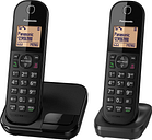 PANASONIC KX-TGC412EB Cordless Phone - Twin Handsets