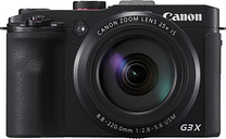 Canon PowerShot G3 X Superzoom Compact Camera - Black, Black