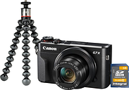 PowerShot G7 X MK II Compact Camera Vlogger Kit