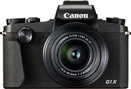 Canon PowerShot G1X Mark III High Performance Compact Camera - Black, Black