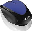 ADVENT AMWLBL19 Wireless Optical Mouse - Blue & Black, Blue