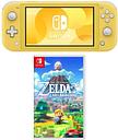 Nintendo Switch Lite & The Legend of Zelda Links Awakening Bundle - Yellow, Yellow