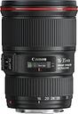 CANON EF 16-35 mm f/4L USM IS Wide-angle Zoom Lens - Black, Black