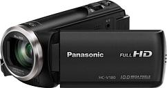 PANASONIC HC-V180EB-K Camcorder - Black, Black