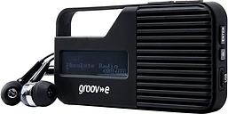 GROOV-E Rio GV-DR01-BK Portable Radio - Black, Black