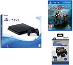 PlayStation 4 Slim, God Of War & Docking Station Bundle, Red