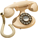 GPO Pearl Corded Phone, Ivory