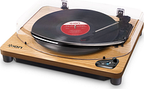 ION Air LP Belt Drive Bluetooth Turntable - Wood