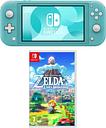 Nintendo Switch Lite & The Legend of Zelda Links Awakening Bundle - Turquoise, Turquoise