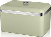 SWAN Retro Bread Bin - Green, Green