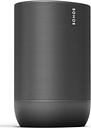 SONOS Move Portable Wireless Multi-room Speaker with Google Assistant & Amazon Alexa - Black, Black