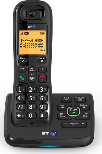 BT XD56 Cordless Phone with Answering Machine