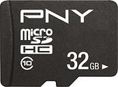 PNY Performance Plus microSDHC Memory Card - 32 GB