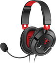 TURTLE BEACH Ear Force Recon 50 Gaming Headset - Black & Red, Black