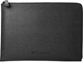 "HP Spectre 15.6"" Laptop Leather Sleeve - Black, Black"
