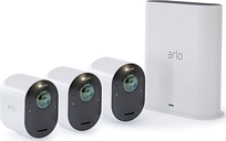 ARLO Ultra VMS5340-100EUS 4K Ultra HD WiFi Security Camera Kit - 3 Cameras