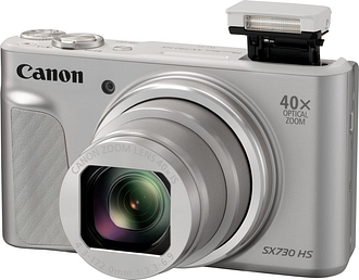 CANON PowerShot SX730 HS Superzoom Compact Camera - Silver, Silver