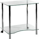 TEKNIK Crystal Workstation 83428-06 Work Centre - Clear Glass