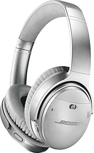 BOSE QuietComfort QC35 II Wireless Bluetooth Noise-Cancelling Headphones - Silver, Silver
