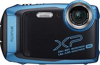 FUJIFILM FinePix XP140 Tough Compact Camera - Sky Blue, Blue