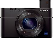 SONY Cyber-shot DSC-RX100 III High Performance Compact Camera - Black, Black