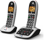 BT 4600 Cordless Phone with Answering Machine - Twin Handsets
