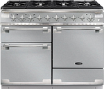 RANGEMASTER Elise 110 Dual Fuel Range Cooker - Stainless Steel & Chrome, Stainless Steel