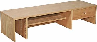ALPHASON Oakwood AW6324-H Desktop Hutch - Oak