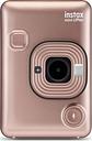 INSTAX LiPlay Digital Instant Camera - Blush Gold, Gold