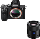 SONY a7 II Mirrorless Camera & Sonnar Standard Prime Lens Bundle