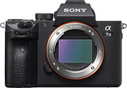 SONY a7 III Mirrorless Camera - Black, Body Only, Black