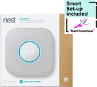KNOWHOW Protect Second Generation Wireless Smoke and Carbon Monoxide Alarm & Installation Bundle