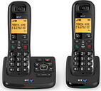 BT XD56 Cordless Phone with Answering Machine - Twin Handsets