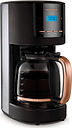 Rose Gold Collection 162030 Filter Coffee Machine - Black & Rose Gold, Gold