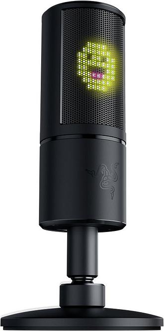 RAZER Seiren Emote Microphone - Black, Black